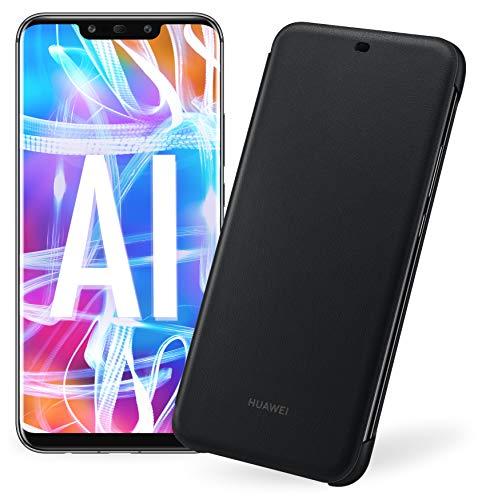 Foto Huawei Mate 20 Lite più Flip Cover Nera originale, Telefono con 64 GB,...