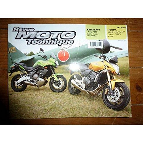 REVUE MOTO TECHNIQUE KAWASAKI VERSYS 650 de 2007 et 2008 HONDA CB600 F et FA HORNET de 2007 et 2008 RRMT0150.1 - Réédition par ETAI