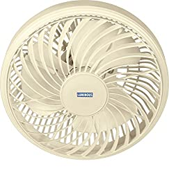 Luminous Buddy 300mm Cabin Fan (Pristine White)
