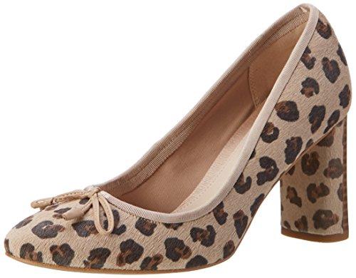 Clarks Damen Idamarie Faye Pumps, Mehrfarbig (Leopard PRT Comb), 39.5 EU