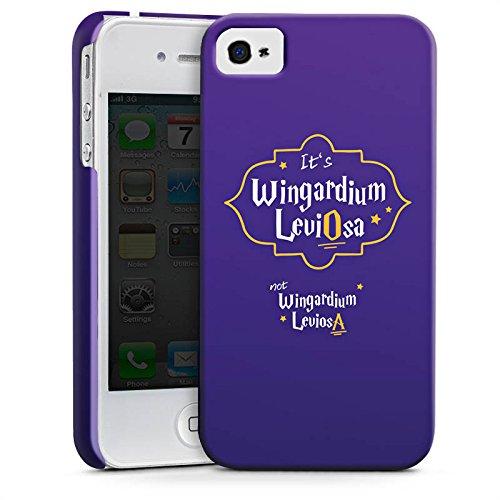 Apple iPhone X Silikon Hülle Case Schutzhülle Wingardium Leviosa Harry Potter Zauberspruch Premium Case glänzend