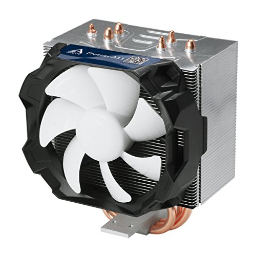 ARCTIC Freezer A11 - Geräuscharmer 150 Watt CPU Kühler für AMD Sockel FM2 / FM1 / AM3+ / AM3 / AM2+ / AM2 mit verbessertem 92 mm PWM Lüfter - Einfache Installation - Professionelle MX4 Wärmeleitpaste inklusive (Cpu-lüfter Fm2)