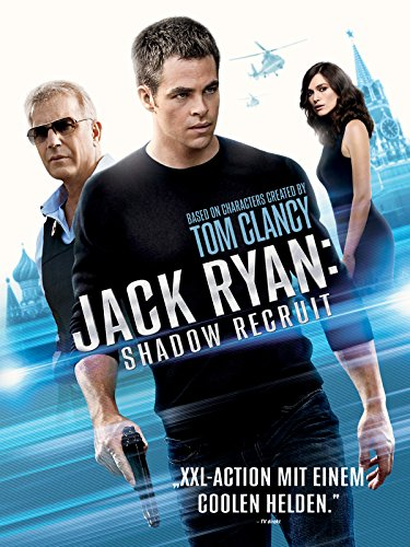 Jack Ryan: Shadow Recruit Cover
