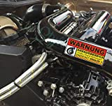 1A Style Sticker Turbo Stage, Upgrade GTI, RS3, Cupra, RS4, i30n WARNUNG ANSAUGBEREICH -Turbo Auto Aufkleber, Turbo Umbau