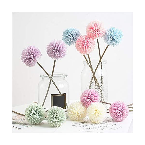 REDAPP 1 Pieza de Hortensia de Flores Artificiales DIY Fiesta de jardín decoración de fotografía de Boda en casa Light…