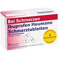 Ibuprofen Heumann Schmerztabletten 400 mg, 50 St. Filmtabletten - preisvergleich