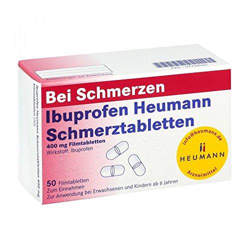 IBUPROFEN Heumann Schmerztabletten 400 mg 50 St Filmtabletten