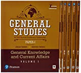 General studies Paper I: For Civil Services Preliminary Examination Vol-1,2,3,4,5,6