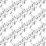 Musikstoff - Meterware - 50 cm x 110 cm - Opus by Windham -