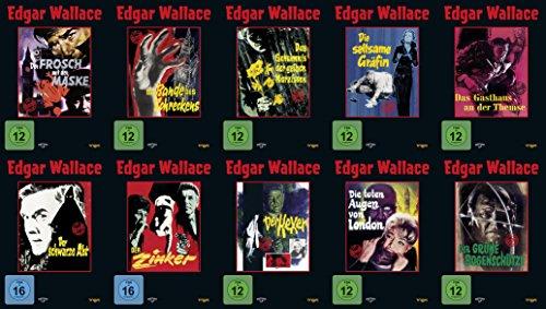 (15 Filme - Best of EDGAR WALLACE Der Frosch mit der Maske + Das indische Tuch + Gasthaus an der Themse + schwarze Abt + Zinker + Hexer + Die Toten Augen von London + grüne Bogenschütze ...DVD Edition)