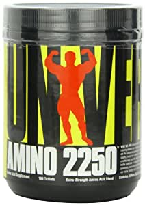 Universal Nutrition Amino 2250 Capsules Pack of 180