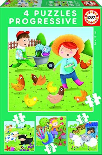 educa-borras-17145-puzzle-progressif-animaux-de-la-ferme-6-9-12-16-pcs