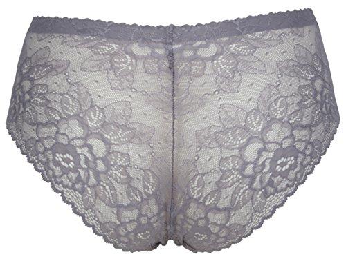 Ex-StoreDamen Miederslip Grau - Lilac Grey