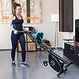 Faltbares X-Bike Heimtrainer Fitnessfahrrad mit Herzfrequenz-Monitor und LCD-Bildschirm   Das perfekte Trainingsgerät für ein effektives Ganzkörper-Workout zu Hause - 4