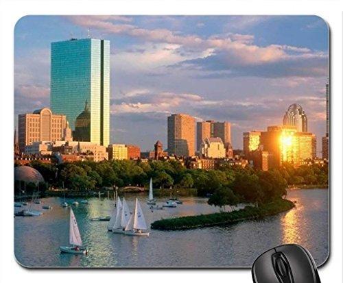 Boston Back Bay (Back Bay Boston Mouse Pad, Mousepad (Rivers Mouse Pad))