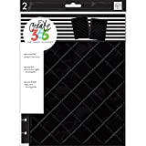 Create 365 Classic Snap-In Hard Cover Planner-Quilted Night Black