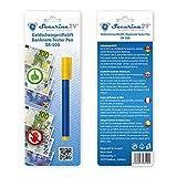 Prüfstift Geldschein Tester Geldscheinprüfstift Geldprüfstift SR-500 Prüfer Geldprüfer Geldscheinprüfer (blau mit gelben Kappen)