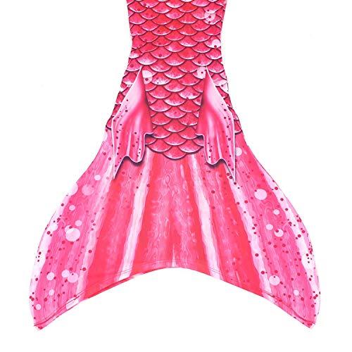 SUN TAILS Meerjungfrauenflossen Kostüm Bahama Pink für Kinder Jugendliche und Erwachsene zum Schwimmen JM