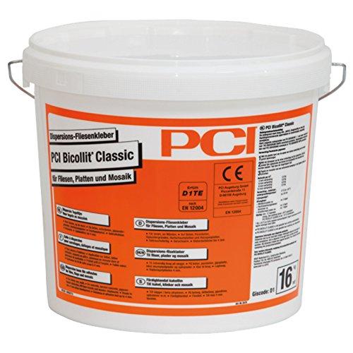 PCI Bicollit Classic 16kg Dispersions-Fliesenkleber für Fliesen, Platten und Mosaik