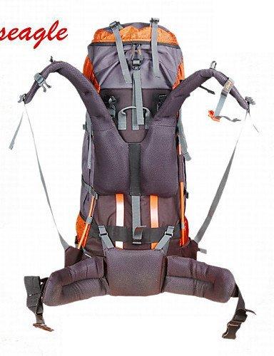 GXS oseagle 85L Große Kapazität Tasche Nylon Wasserdicht Rucksack Outdoor Sport Pack Tasche Orange - orange