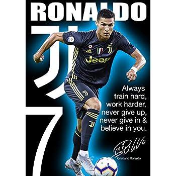 CRISTIANO RONALDO FOOTBALL GIANT ART PRINT POSTER WALL G1158