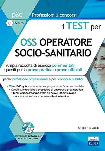 I test per OSS operatore socio sanitario. Con
