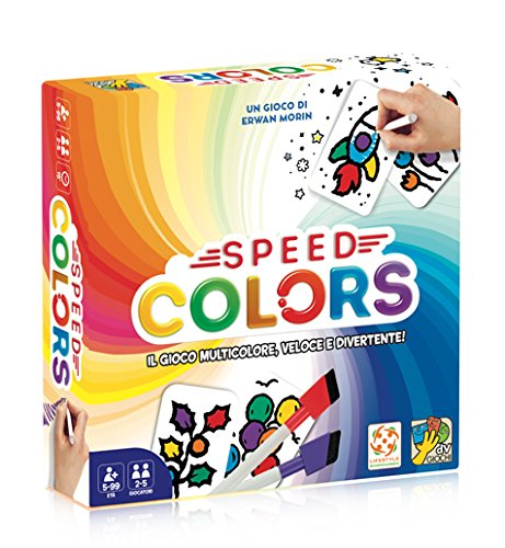 DV Giochi Speed Colors-Il Giodo di Carte Italiano, DVG9345