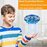 BOMPOW Drones, Interactive Mini Drone for Kids and Adults, Rechargeable Hand..