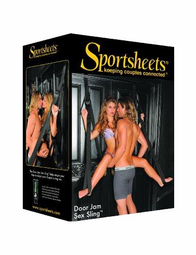 Sportsheets Tür-Sex Sling, schwarz, 1 Stück