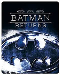 Batman Returns - Limited Edition Steelbook [Blu-ray] [1992] [Region Free]