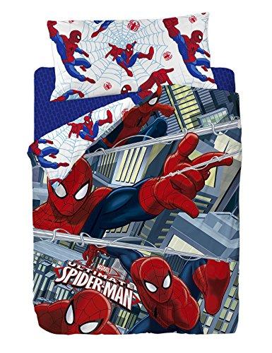 Marvel Ropa (Marvel Spiderman–Bettwäsche aus Polycotton, 200x 90x 25cm, mehrfarbig)