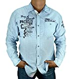 Camp David Hemd Bay of Island II Summer Blue CCB-1806-5630 (XL)