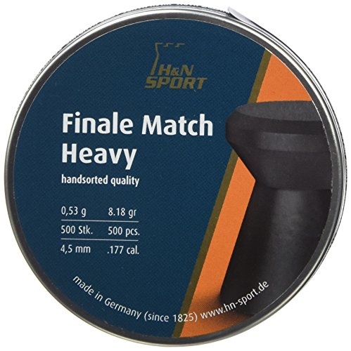 H & N Heavy Sports Finale Match Diabolos, grau, Unisex – Erwachsene, Finale Match Heavy, grau