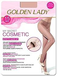 Goldenlady Damen Halterlose Strümpfe Mysecret 15 Cosmetic, 15 DEN, Gold (Bronzer K30A), X-Large (Herstellergröße: 5 – XL)