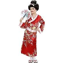 WIDMANN Video Delta , Costume da Giapponesina/Geisha, Taglia 8/10 Anni