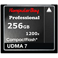 Komputerbay 256GB Professionelle Compact Flash Karte CF 1200X WRITE 140 MB / s lesen 180 MB / s Extreme Speed ​​UDMA 7 RAW 256 GB