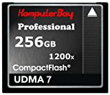 Komputerbay 256GB Professionelle Compact Flash Karte CF 1200X WRITE 140 MB/s lesen 180 MB/s Extreme Speed ​​UDMA 7 RAW 256 GB