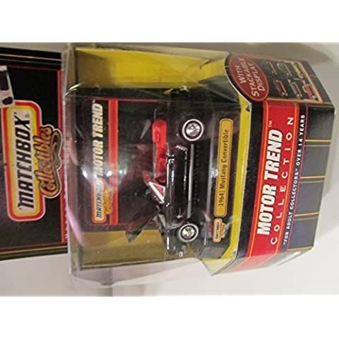 1964 1/2 Mustang Convertible Matchbox Collectibles Motor Trend Collection by Mattel