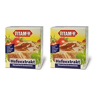 """Vitam-R Hefeextrakt das Original 2x125g Glas """"DOPPELPACK"""""""