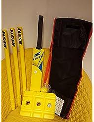Cricket loco juego de Cricket Kit de tamaño 4–amarillo
