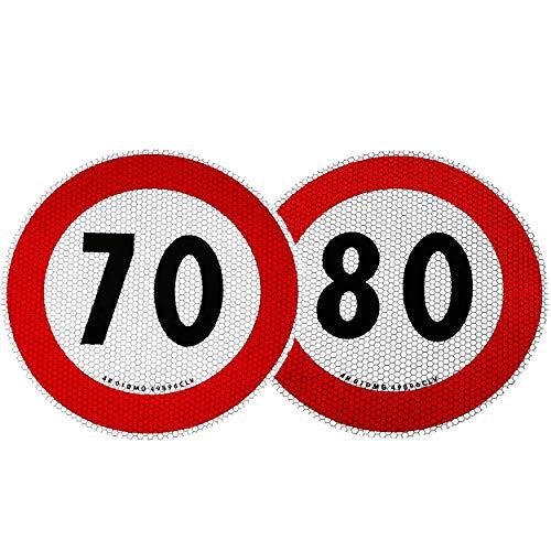Contrassegno Limite Velocità 70 e 80 km/h Omologati EU