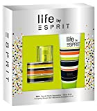 Esprit Geschenkset Life Men EdT 30ml + Shower Gel 75ml, 1er Pack (1 x 105 ml)