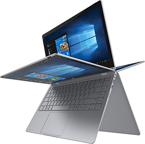 "TREKSTOR PRIMEBOOK C13B - Notebook/Convertible mit Intel Celeron N3350 Prozessor, Windows 10 Home, Office 365,13.3"" Full-HD-IPS-Display, 64 GB, Fingerprint-Sensor, M.2 SSD Erweiterungsschacht"