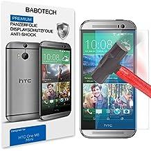 1 x Set BaboTech® Premium Panzerfolie Display Schutzfolie für HTC M8 mini Klar Extrem Shock-Absorbierend