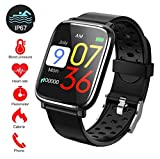 Fitness Tracker, Activity Tracker con schermo a colori da 1,3'Smart Watch impermeabile IP67 con cardiofrequenzimetro Sleep Monitor Contapassi per donne Uomini Bambini-43