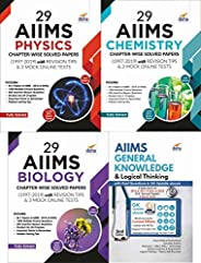 29 AIIMS Physics, Chemistry & Biology Chapter-wise Solved Papers (1997-2019) with AIIMS GK & Logical T