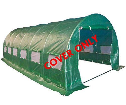 foxhunter-6ml-x-3mw-x-2mh-polytunnel-greenhouse-pollytunnel-poly-polly-tunnel-6-section-cover-only