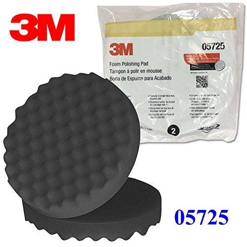 3M 05725 5725 Perfect-It - Almohadilla de pulido de espuma de un solo lado, 20,3 cm