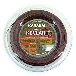 Karakal Kevlar Tennis String 100m Reel Review 2018 by Karakal