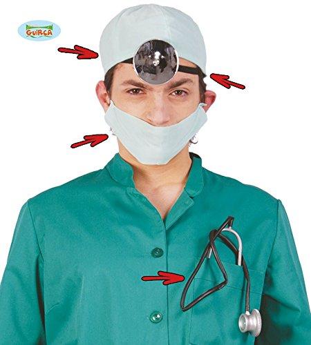 Guirca Fiestas GUI16112 - Doktor-Set (Doktor Halloween Kostüm Zubehör)